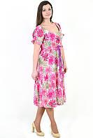 Платье женское, БАВАРИЯ , одежда для полной молодежи, одежда для беременных, большие размеры, Пл  023-5.