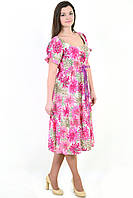 Платье женское БАВАРИЯ , одежда для полной молодежи, одежда для беременных, большие размеры, Пл  023-5.
