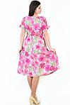 Платье женское БАВАРИЯ , одежда для полной молодежи, одежда для беременных, большие размеры, Пл  023-5., фото 3