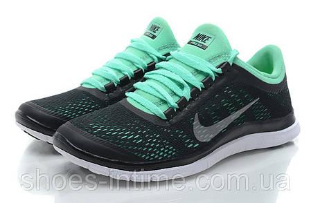 9a00180a Женские кроссовки Nike free run 3.0 v5 черно-бирюзовые: продажа ...