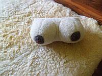 Шерстяная подушка, декоративная, грудь 6 размера
