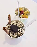 """Сухая шоколадная смесь для Тайского жареного мороженого Ice roll cream  """"Палитра Айc ролл  шоколад"""""""