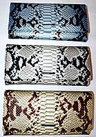Женские кожаные кошельки под рептилию Dur Yea (3 цвета), фото 1