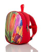 Детский яркий текстильный рюкзачок с рисунком., фото 1