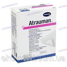 Атрауман (ATRAUMAN) повязка лечебная атравматичная из нетканного материала (Hartmann) 5 X 5 cм