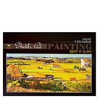 Альбом для малювання Мандарин клеєний 40 аркушів
