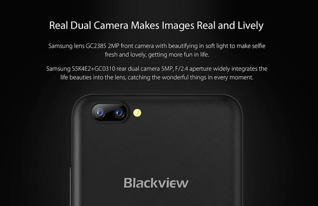 Фотоаппаратура Blackview A7