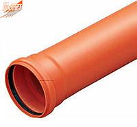 Труба 110*4000*3.2 SDR 34 (SN 8)* тяжелая для наружной канализации