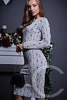 Платье KP-5819 (Черно-белый)