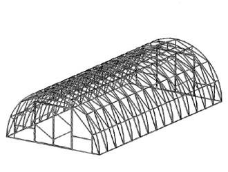конструкция теплицы арки