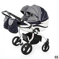 Дитяча коляска для двійнят Moonlight zakard DUO