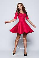 Платье -24284 (Фуксия)