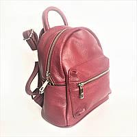 Рюкзак кожаный, Италия, марсала, фото 1