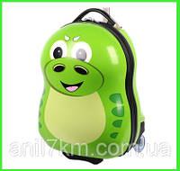 Детский пластиковый чемодан Cuties and Pals-Динозавр