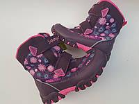 Зимние термо сапоги для девочки 28 размер