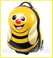 Детский пластиковый чемодан Cuties and Pals-Пчёлка
