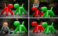 Детский стул-игрушка The Puppy красный полипропилен, средний размер, дизайн Eero Aarnio