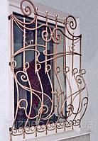 Кованые решетки на окна. Ручная ковка. Возможно с покраской супер эмалью, доставкой и установкой. Гарантия.
