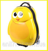Детский пластиковый чемодан Cuties and Pals-Цыплёнок