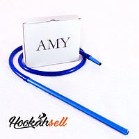 Шланг Amy DeLuxe силиконовый с алюминиевым мундштуком