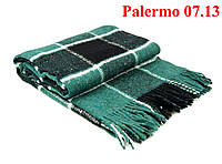 Плед  полуторный 140х200, тм. VLADI, Палермо «Palermo» 07.13 (хаки-бир-бел)