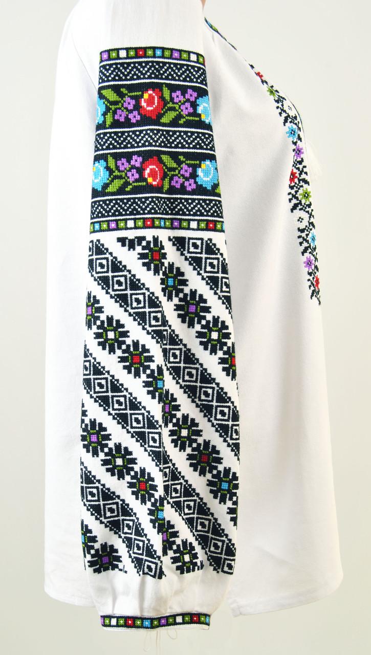 ... Жіноча оригінальна вишиванка борщівка ручної роботи на домотканому  полотні de294360dfcff
