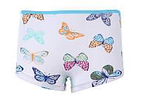 """Трусики-шортики  """"Цветные бабочки"""", размер 0/1"""
