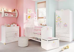 """Комплект  мебели для новорожденной """"Волшебная принцесса"""", Meblik (Польша)"""