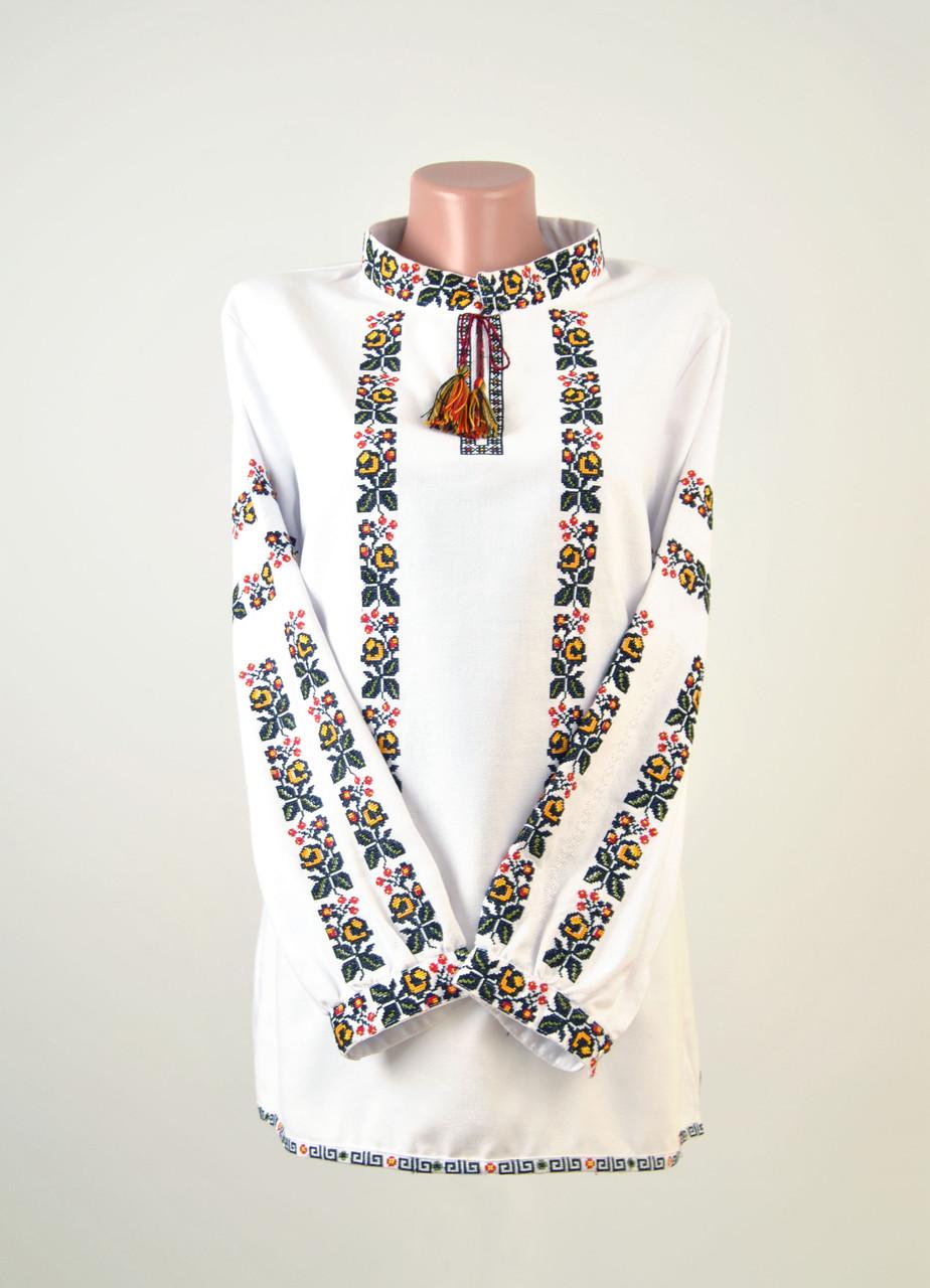 Жіноча вишиванка з машинною вишивкою недорого - Світ Вишиванок в  Тернопольской области 7903f37074cd1