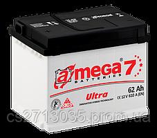 Автомобильный аккумулятор A-mega ultra 62Ач 610А (0) R
