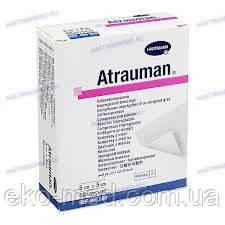 Атрауман (ATRAUMAN) повязка лечебная атравматичная из нетканного материала (Hartmann) 10 X 20 cм