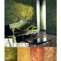 Декоротивная штукатурка Aureum торговой марки Oikos