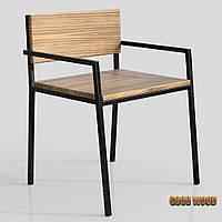 Кресло Кл-2 (черное или белое) из дерева и металла