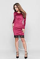 Платье -24683 (Малина)