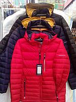 Куртка мужская красная стеганая
