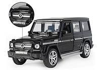Машинка коллекционная Mercedes G-500 Gelandewagen металлическая моделька в масштабе 1:32