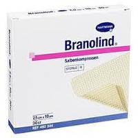 Бранолинд (BRANOLIND) повязка лечебная атравматичная из нетканного материала (Hartmann) 7,5 X 10 cм