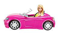Машина Барби Barbie DGW23 Glam Convertible, Pink
