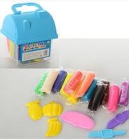 Набор для творчества Тесто для лепки 12 цветов в ведерке
