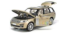 Машинка  коллекционная Range Rover металлическая модель в масштабе 1:32