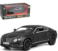Машинка металлическая коллекционная Bentley Continental GT 1:32