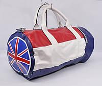 Cпортивная, дорожная сумка Флаг 6900-2 трехцветная