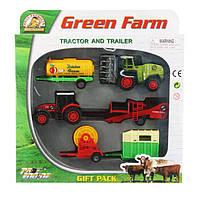Набор фермера 2 трактора и прицепы