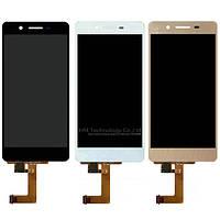 Дисплей Huawei Enjoy 5s Хуавей GR3 с тачскрином в сборе, цвет черный