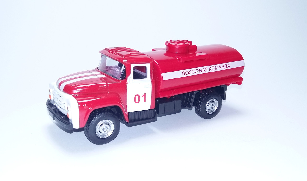 Пожарная машина Газон с цистерной для воды металлический