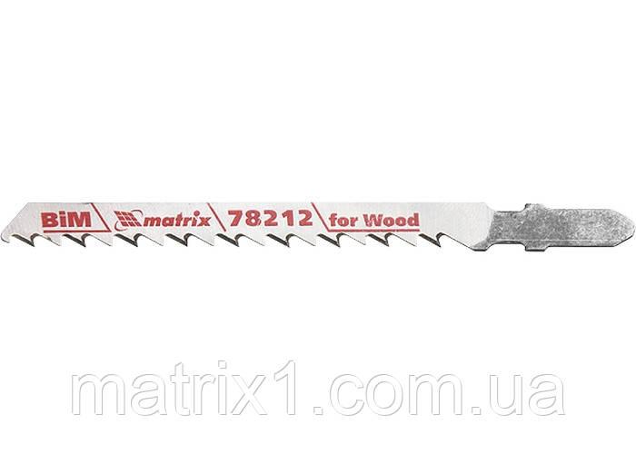 Полотна для электролобзика  по дереву, 3 шт. T101DF, 75 x 4мм, Bimetal // MTX Professional