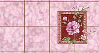 Обои влагостойкие мойка Шарм Мальвина 53-06 розовые