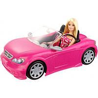 Barbie Кукла и ее гламурный кабриолет