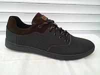 Мужские кроссовки CAT черно-серые