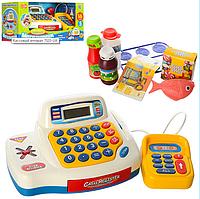 """Детский Кассовый аппарат """"Мой магазин"""" 4 игровые функции"""